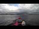 Каякер Самара- попали в сильный шторм, прячимся от ветра, шторм начнется спустя 10 минут!