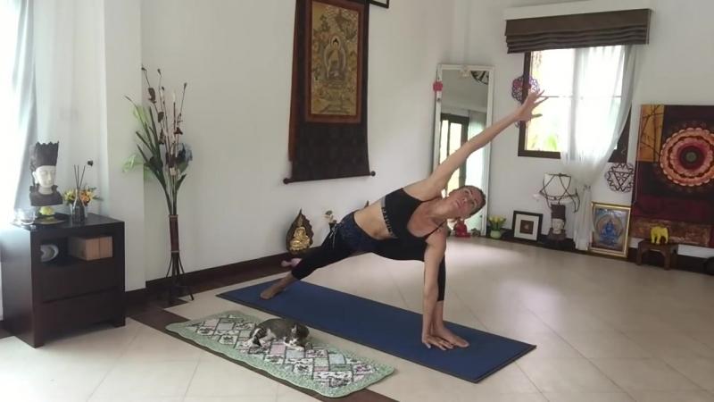 Хатха йога Средний уровень сложности