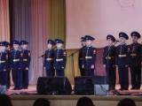 Приезд кадетов Президентского кадетского корпуса