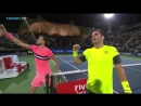 Jaziri stuns top seed Dimitrov in Dubai! Match Point Celebration / tennis insight
