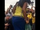 Бразильский карнавал в центре Москвы