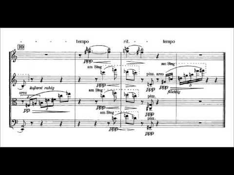 Anton Webern, Five movements for string quartet, op. 5