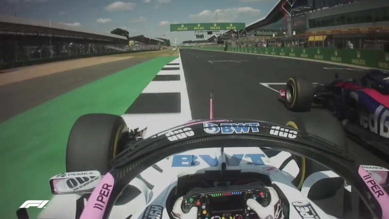 Gasly barges past Perez