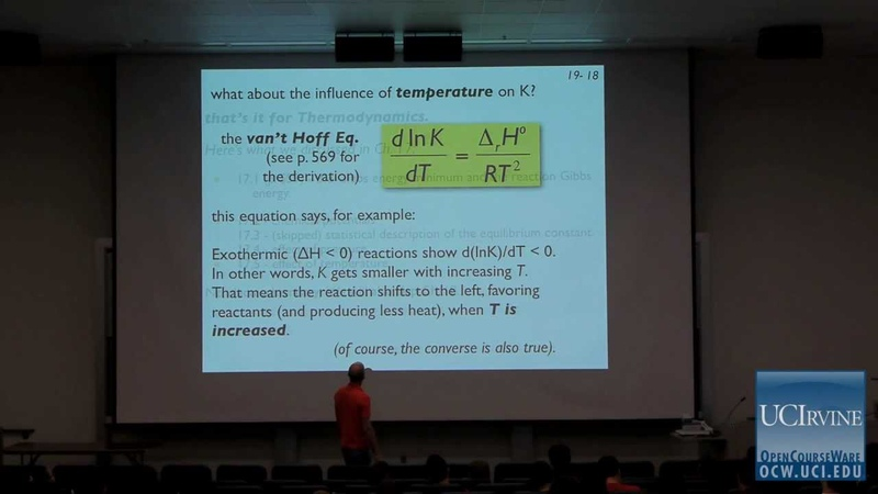 Thermodynamics and Chemical Dynamics 131C. Lecture 19. Observational Chemical Kinetics