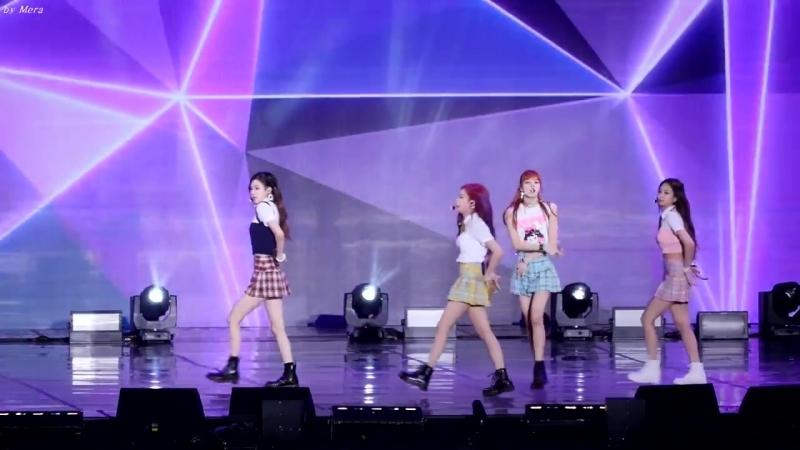 170724 BLACKPINK - WHISTLE 2017 Ulsan Summer Festival1