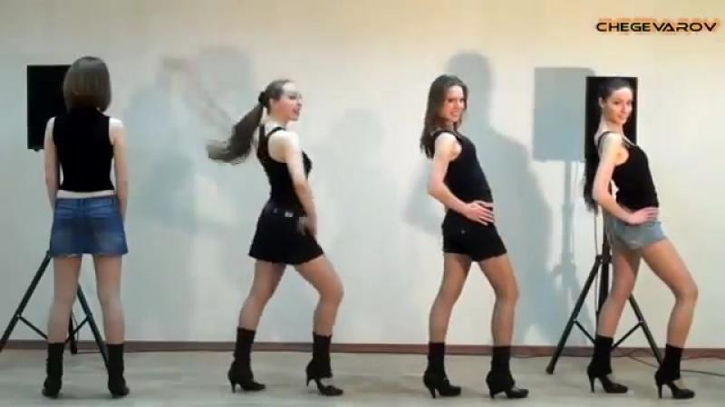 Красивые девушки круто танцуют под Сектор газа Частушки