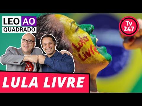 Leo ao quadrado Lula livre no dia 2
