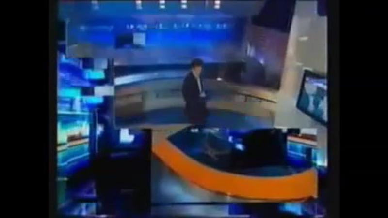 Заставка программы Время (ОРТ/Первый канал, 2001-2003)