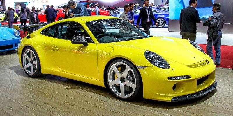 RUF показала в Женеве красивые Porsche