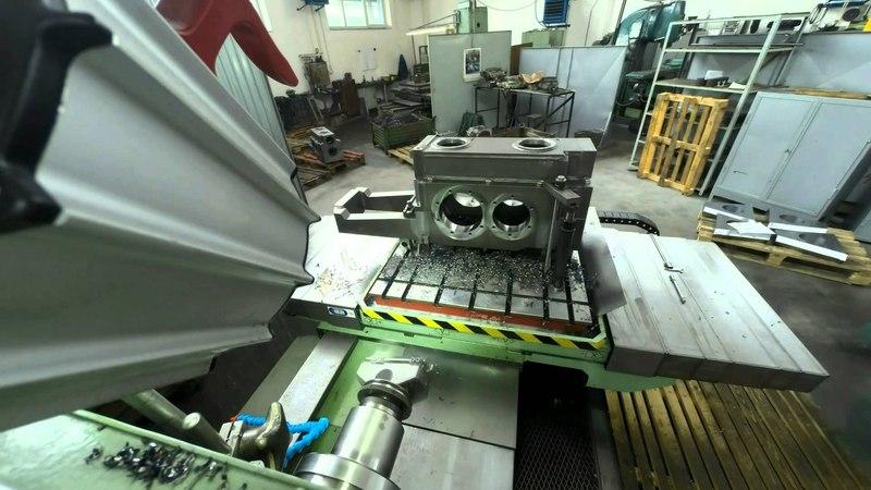 Horizontálna vyvŕtavačka WH 10 CNC drilling machine bohrmaschine