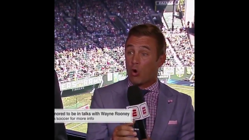 Taylor Twellman on Rooney coming to DCU