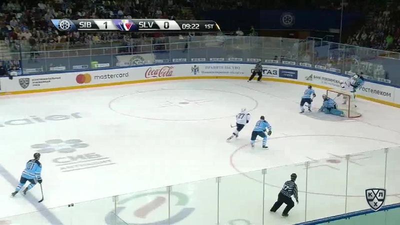 Моменты 2017/2018 • Первый гол Томаша Зиго в КХЛ 19.09