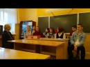 A fragment of an English lesson with the first year students of our college