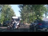 Брянск авария на пешеходном переходе, ул. Объездная. Актуально 08.06.2018 около 18.20