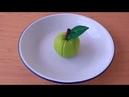 Inilah Cara Mudah Membuat apel dari Kain flanel