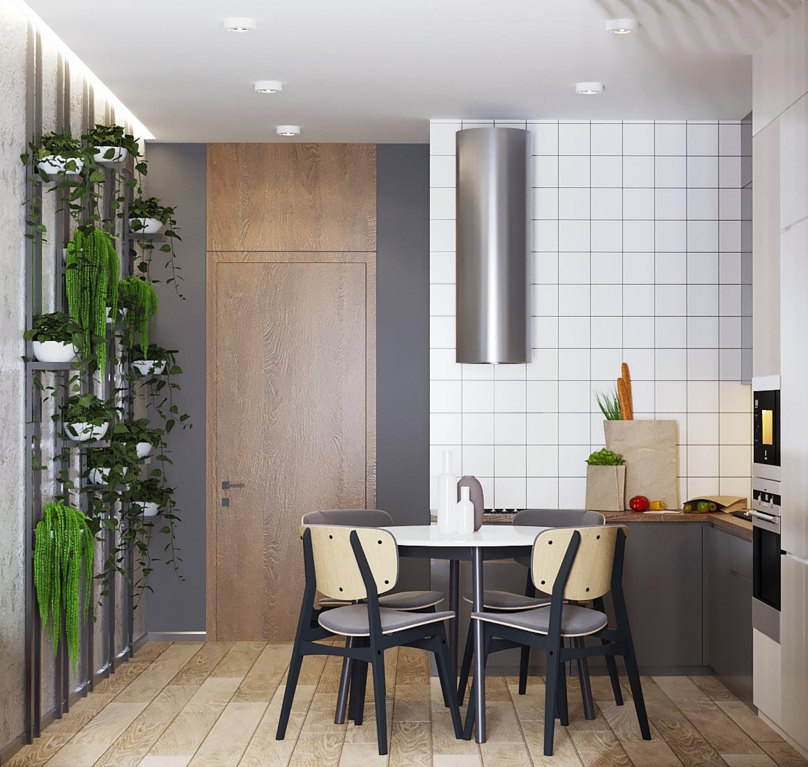 Проект квартиры-студии 25 м2, Ростов-на-Дону.