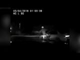 В США пьяного водителя сбила собственная машина при попытке скрыться от полиции
