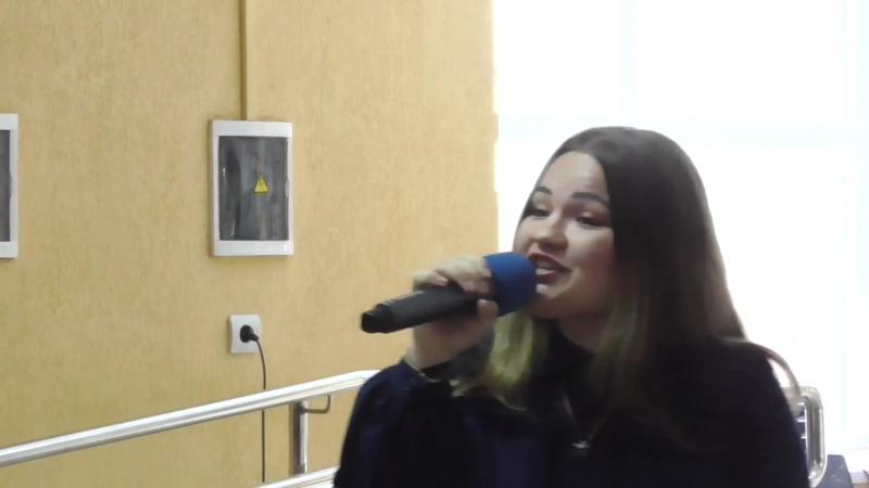 Концерт в День выборов 18.03.18г. Дай знать - Вероника Майданец