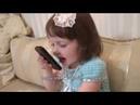 3-х летняя Маша читает стих Лики Кугейко Алло бабуля!
