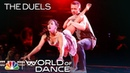 Ashley Zack Tell a Story to Don't Wanna Think by Julia Michaels - World of Dance 2018