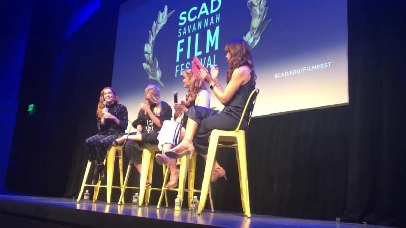 28 10 17 Саванна США Скриннинг фильма Год впечатляющего человека на кинофестивале SCAD Savannah Film Fest1