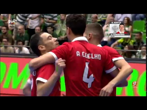 Liga SportZone | Final | Jogo 1 | Sporting CP 5-4 SL Benfica | Full Match