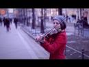 Скрипачка на Васильевском острове