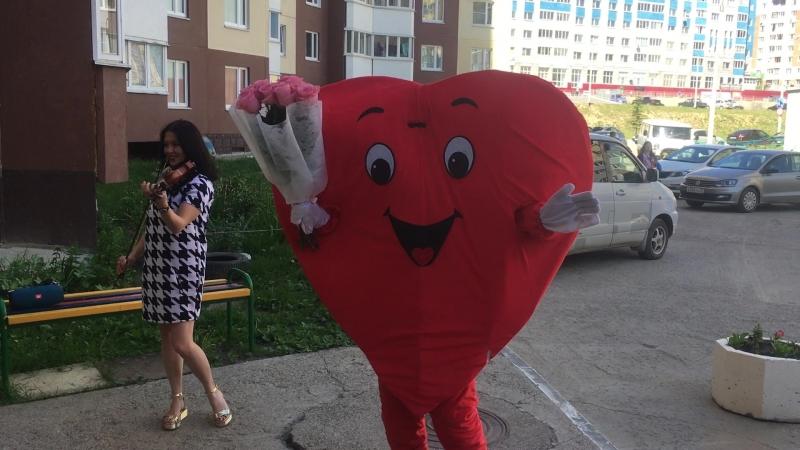 Романтическое извинение-Сердце курьер и скрипка