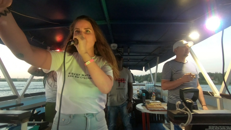 Miss Baas - Live on Moscow River @ DanceHeat Caribbean Boat Party, 12.08.2018