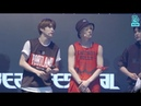 180714 NCT 127 - Limitless Touch Talk Cherry Bomb - NBA Buzzer Beat Festival 2018