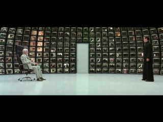 The Matrix Reloaded - The Architect Scene