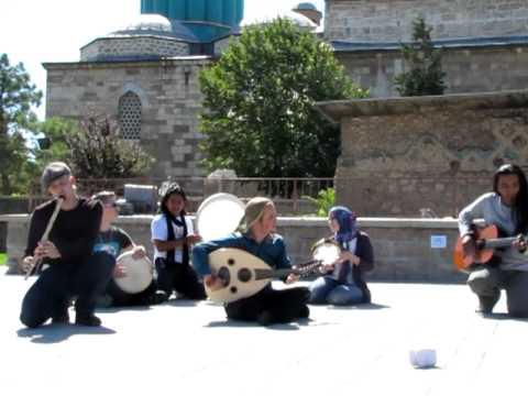 Bu Gece - DEBU Live in Mevlana Rumi Tomb.MOV
