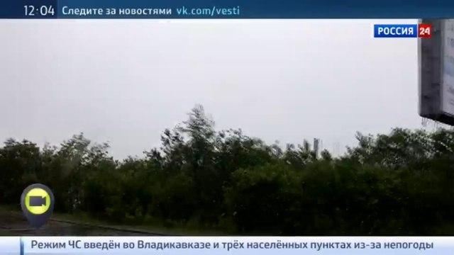 Новости на Россия 24 • Мобильный репортер снег в Мурманске