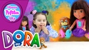 The Dora Train Play Dora Perrito Nickelodeon Fisher Price funny review HappyMilaTV 72