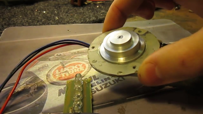 BLDC for HDD _ Контроллер трехфазного двигателя HDD