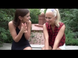Little Caprice and Carla Cox first Lesbian experience