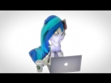 SFM PMV Vinyl Scratch - All About That Bass.mp4