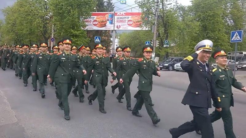 Trường đại học pháo binh Penza ПАИИ 2018