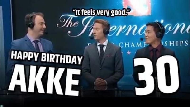 Join us in congratulating @FollowAkke on his 30th birthday!