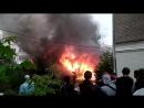 Сгорел сарай на ул. Милицейской. 07.08.2018