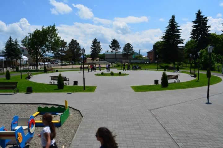 В ст.Сторожевой благоустроили парковую зону