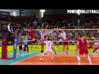 MONSTER Volleyball 3-rd Meter Spikes. Powerful Volleyball Spikes (HD).