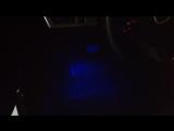 Установка подсветки ног Мазда 3 (штатная)