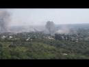 Славянск.8 июня,2014.Обстрел города.