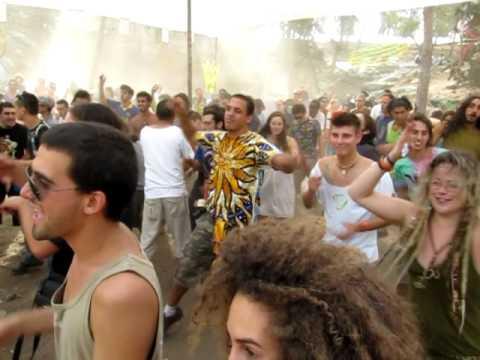 OLDSCHOOL GOA TRANCE PARTY MUSES RAPT part 3 החזית העממית מסיבת גואה טראנס