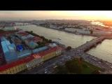 Питер Эрмитаж полет вид сверху