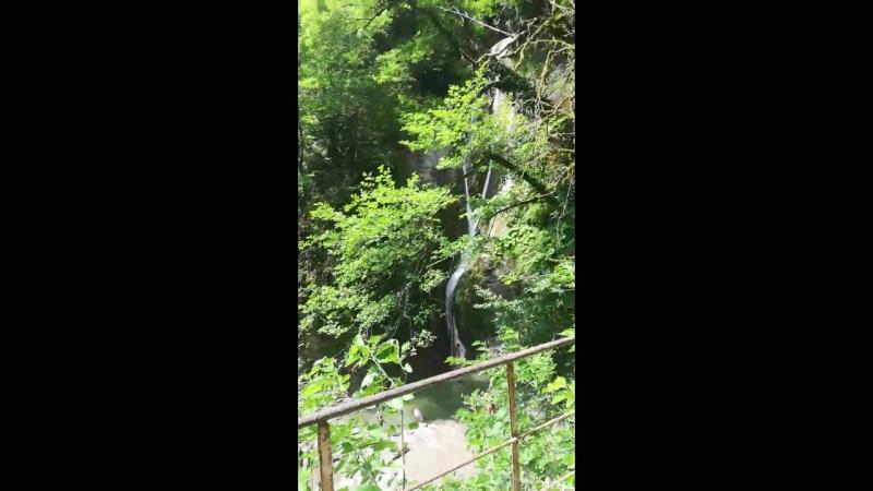 Ореховский водопад. Сочи.