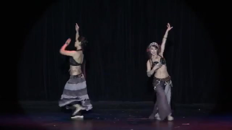 Anita Wai Marjorie Wu perform at The Tribal Massive Bellydance showcase 18205