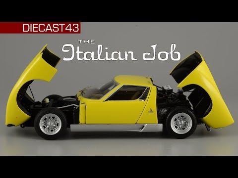 Итальянская работа Lamborghini Miura SV | AUTOart Signature | 143
