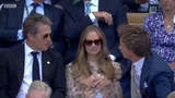 Eddie Redmayne (fan) on Instagram #bbc #hughgrant #eddieredmayne #hannahbagshawe #redshawe #wimbeldon2018 #wimbeldonfinal #tennis #OBE #redmaynia...
